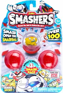 Smashers - Series 1 Sport 3 Surprise Pack