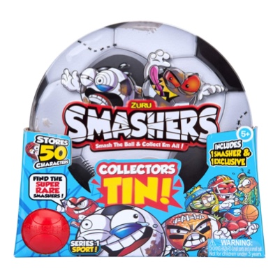 smashers tin collectors football serie 1